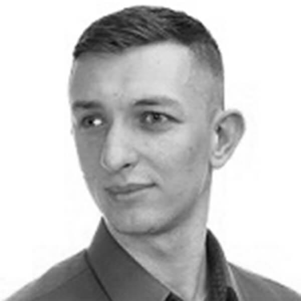 Portrait Emil Bukowiecki Technischer Mitarbeiter
